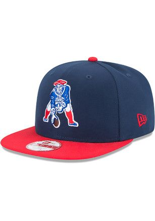 best loved eef7a 4ea5d New Era New England Patriots Mens Navy Blue Historic 9FIFTY Snapback Hat