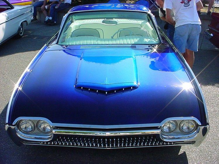 62 tbird Custom cars, Car paint jobs, Car photos