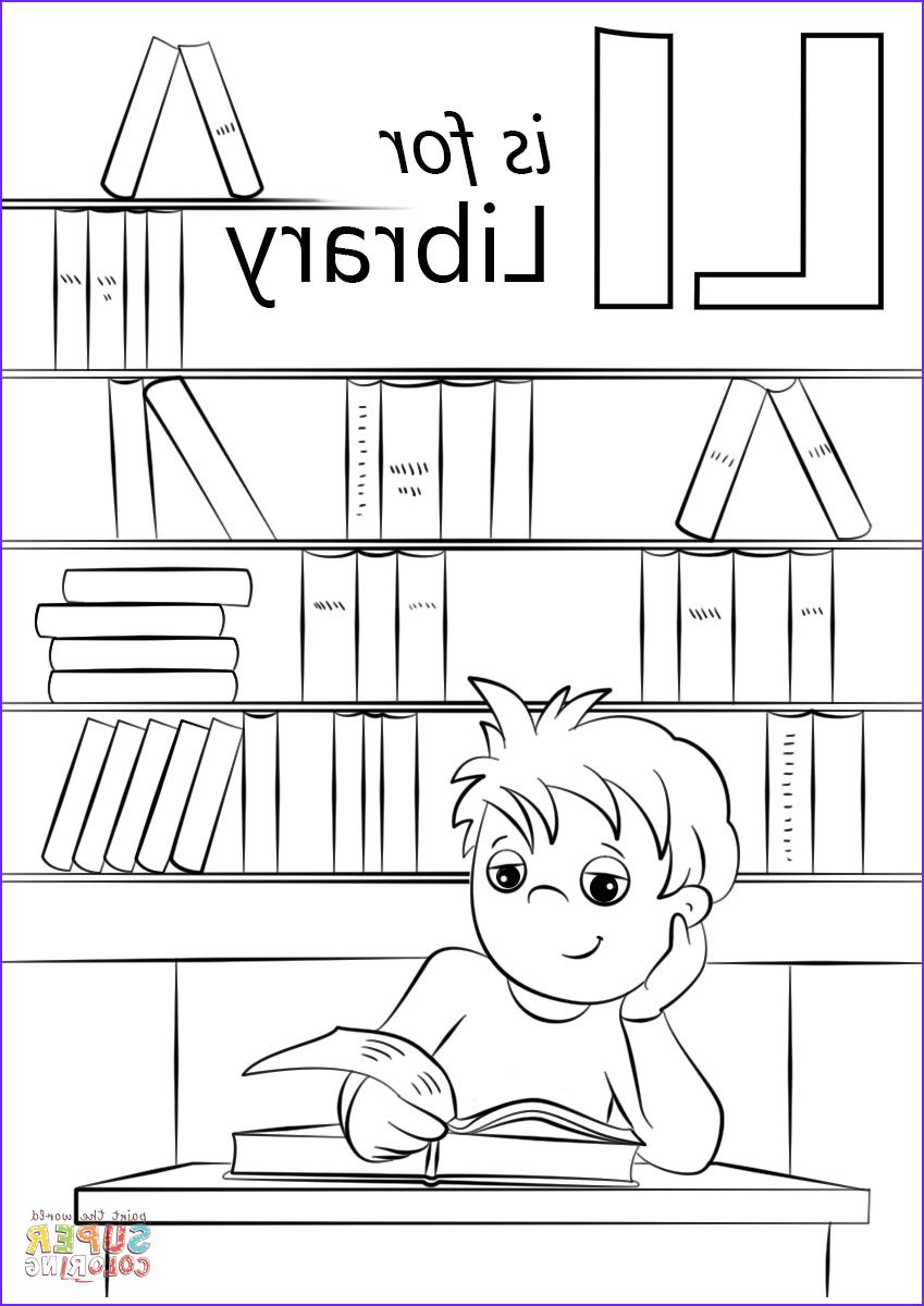 12 Unique Library Coloring Pages Photography In 2020 Love