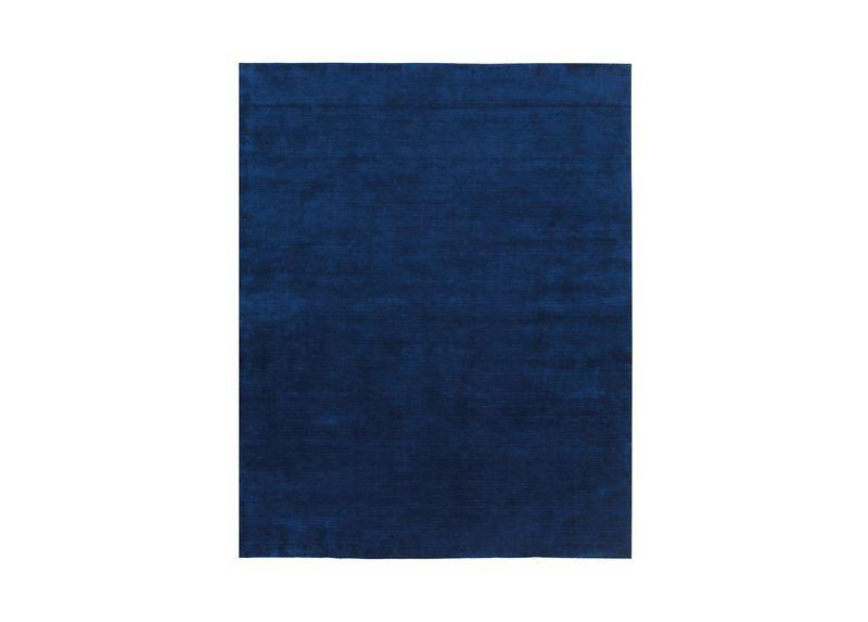 Loomed Wool Rug Navy In 2019 Solid Rugs Wool Rug Rugs