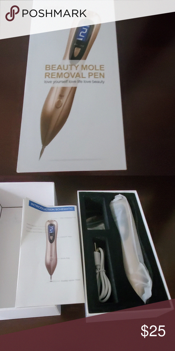 Beauty mole remover pen New in box. Never used. Kungbar
