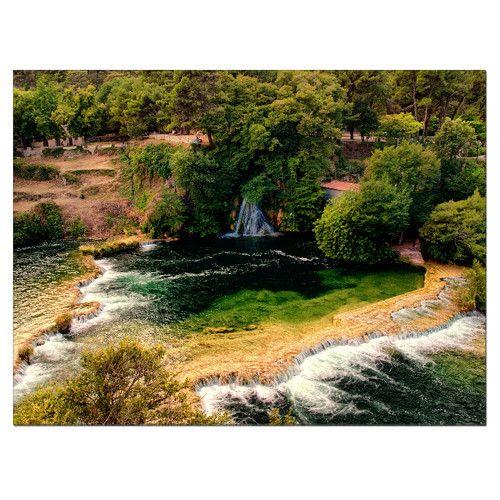 Vodopád - fotoobraz 120x160cm