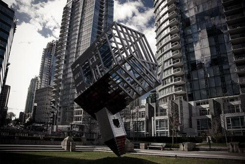 Crazy-Buildings-Around-The-World-003. Device to Root Out Evil – Vancouver, canada  Read more: http://www.funcage.com/blog/crazy-buildings-around-the-world-29-photos/#ixzz31zvWlnKD