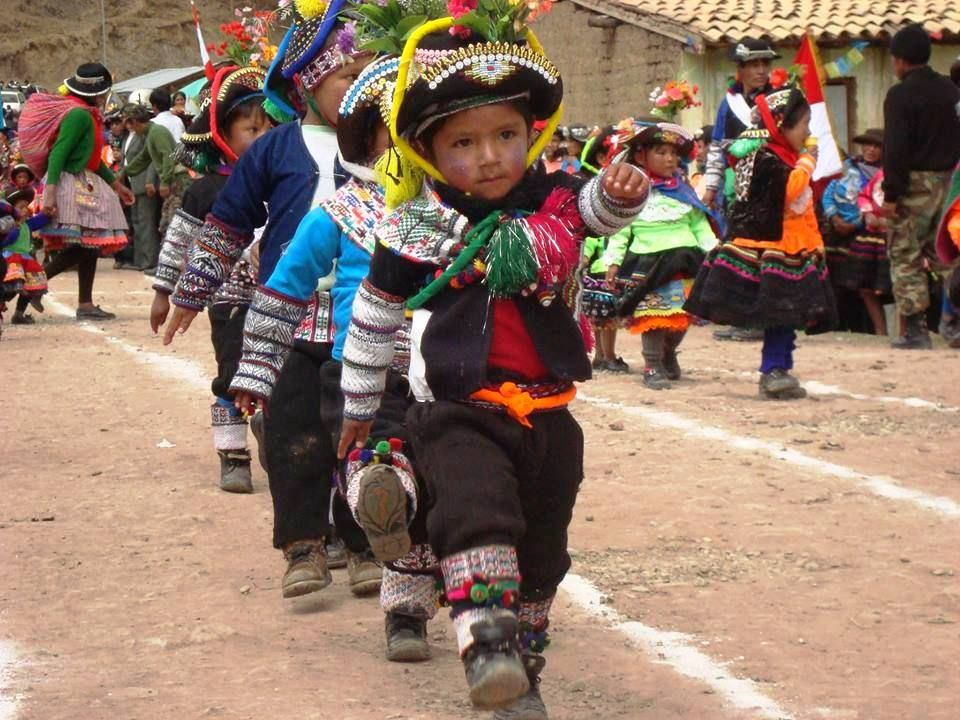 A marchar como un Huancavelicano, Perú.