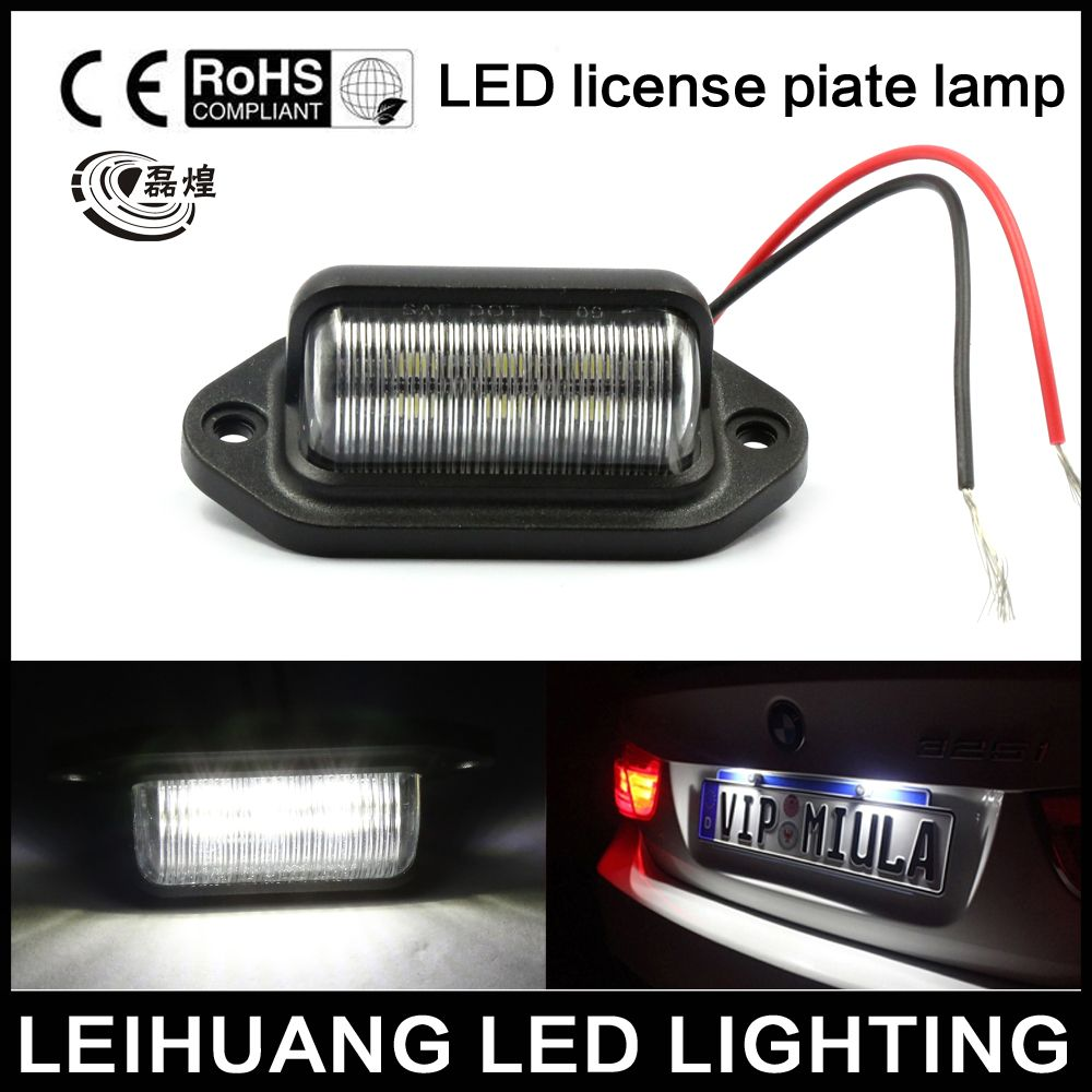 2x 12v 6 Led Number License Plate Tag Interior Step Light Rv Boat Trailer Truck With Images Affordable Interior Design Step Lighting
