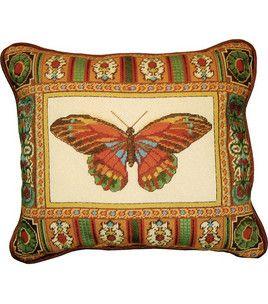 14''x17'' Needlepoint Kit - Butterfly With Mosaic Border : needle point : cross stitch : needle arts :  Shop | Joann.com