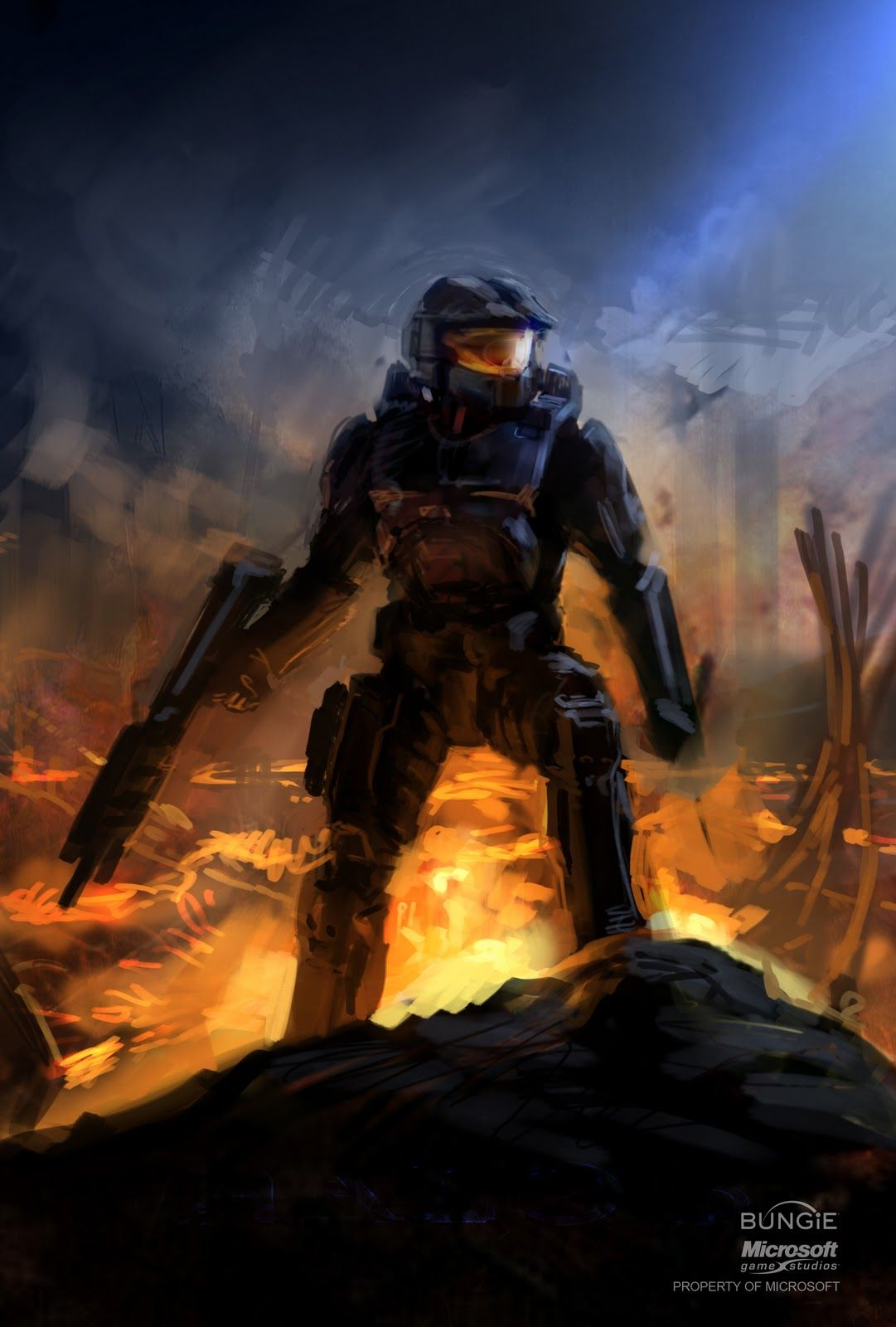 Master chief halo isaac hannaford halo pinterest - Master chief in halo reach ...