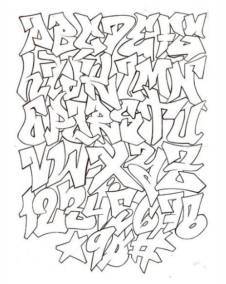 Resultado de imagem para graffiti font bubble