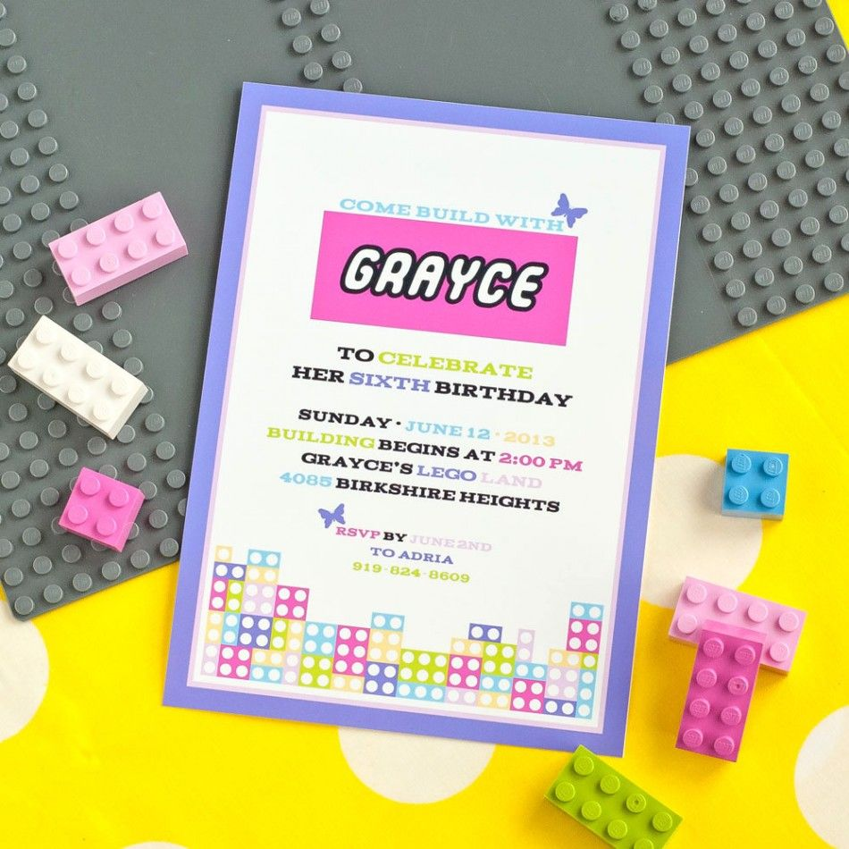 Lego Friends loving little girls - A perfect birthday party theme ...
