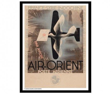 Adolphe Mouron Cassandre Air-Orient - 1932 | hos Plakatgalleri.dk