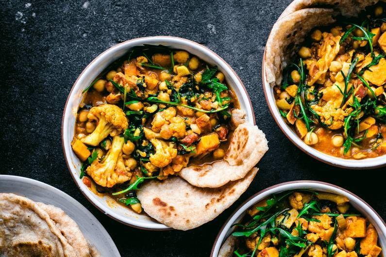 Fitness Rezepte Blumenkohl K Uuml Rbis Blumenkohl Curry Rezept Fit For Fun In 2020 Workout Food Paleo Snacks Curry