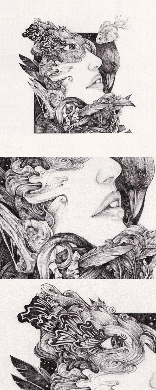 CROQUIS. A Drawing Exhibition by Raf Banzuela III, via Behance