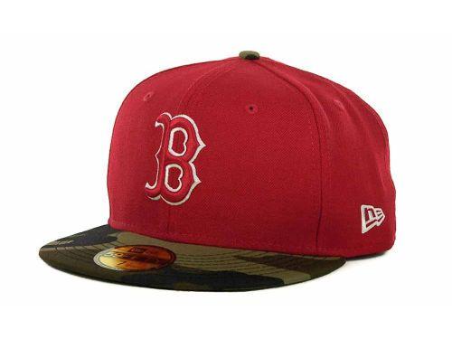 Boston Red Sox Camo Hat New Era MLB Team Camo 59FIFTY Cap  83c7c43ba7b