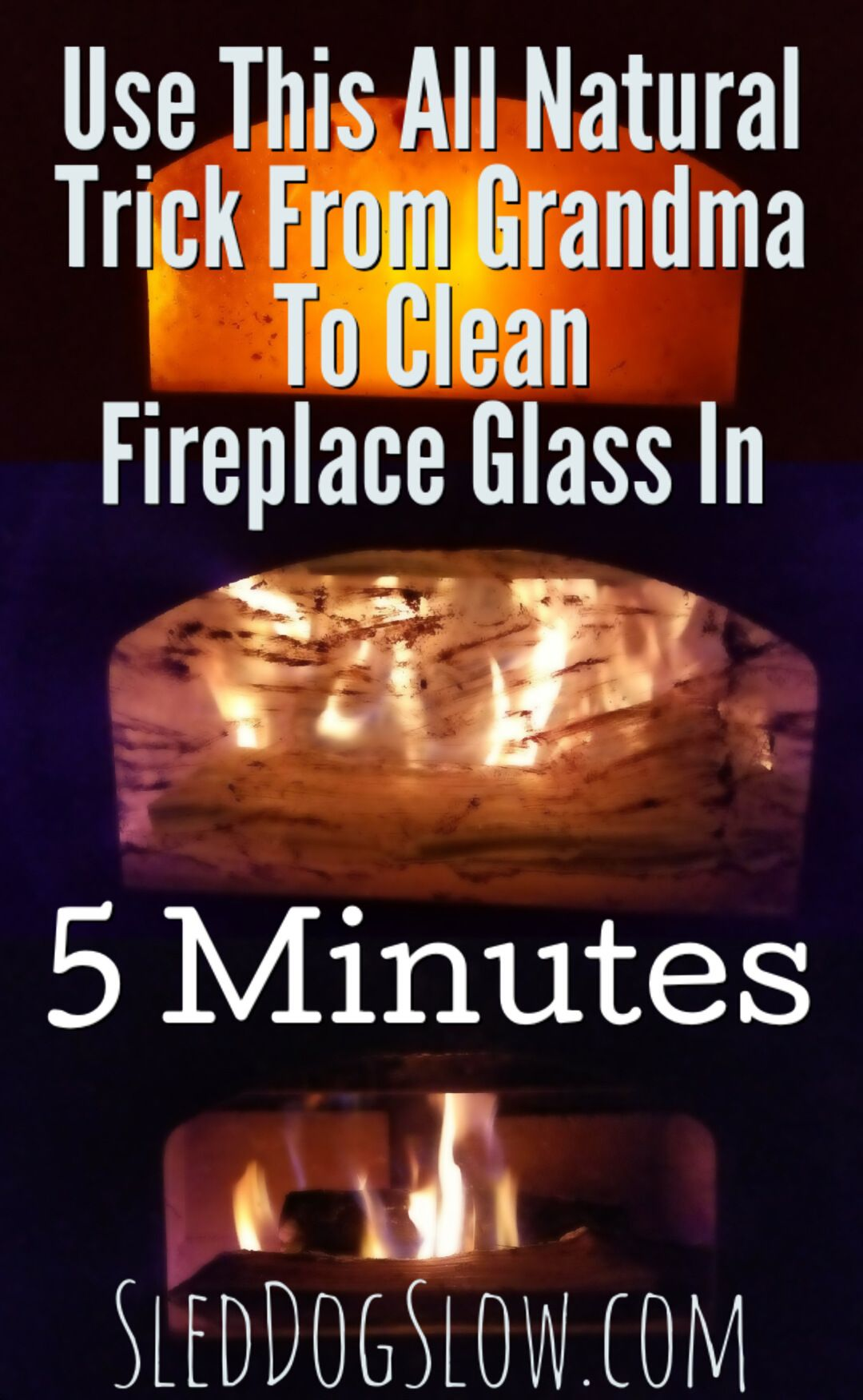 Use This All Natural Trick From Grandma To Clean Fireplace Glass