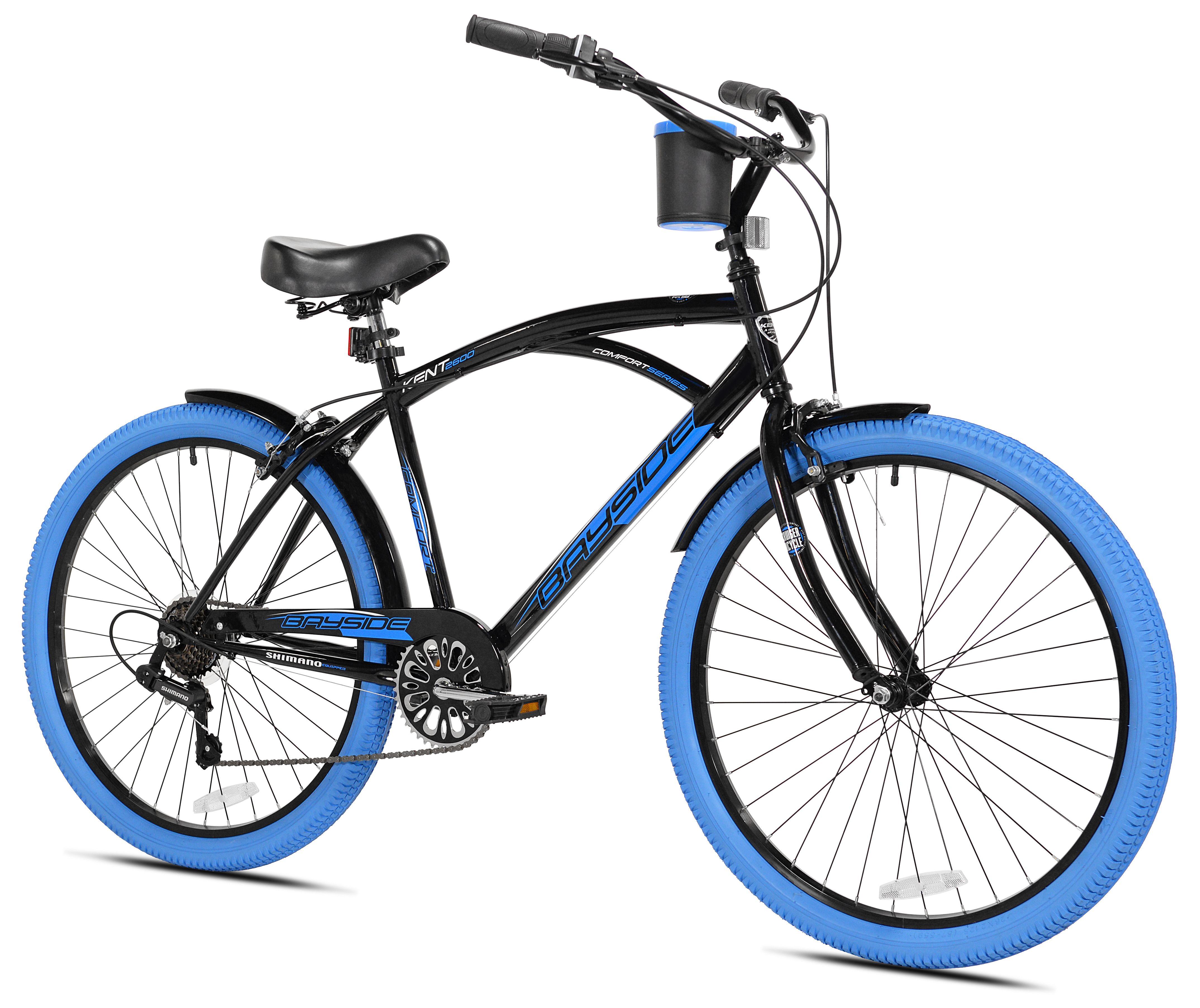 Kent 26 Men S Bayside Bicycle Blue Men Kent Blue Commuter Bicycle Bicycle Cruiser Bike