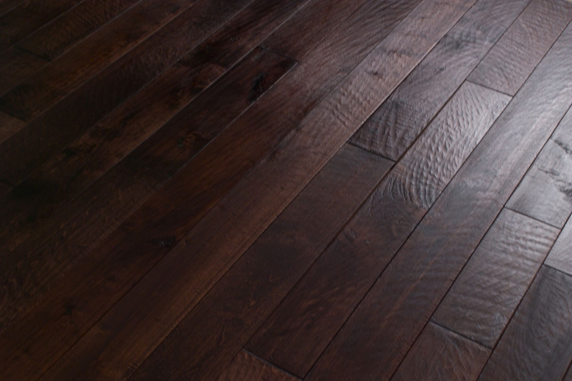Dark Brown Hand Scraped Solid Silver Maple Hardwood Flooring Hardwood Floors Flooring Maple Hardwood Floors