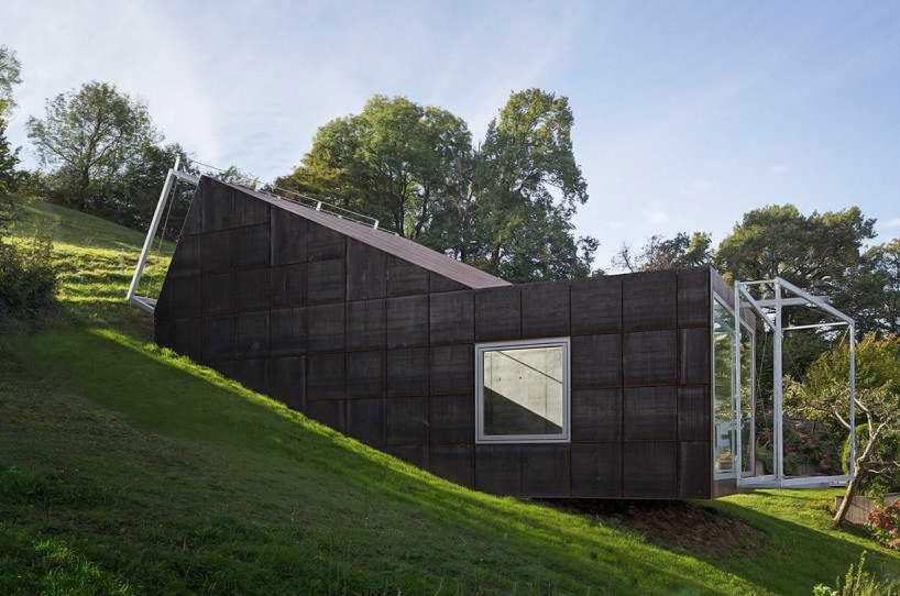 christian tonko slopes camera lucida studio for artist's creations - designboom | architecture
