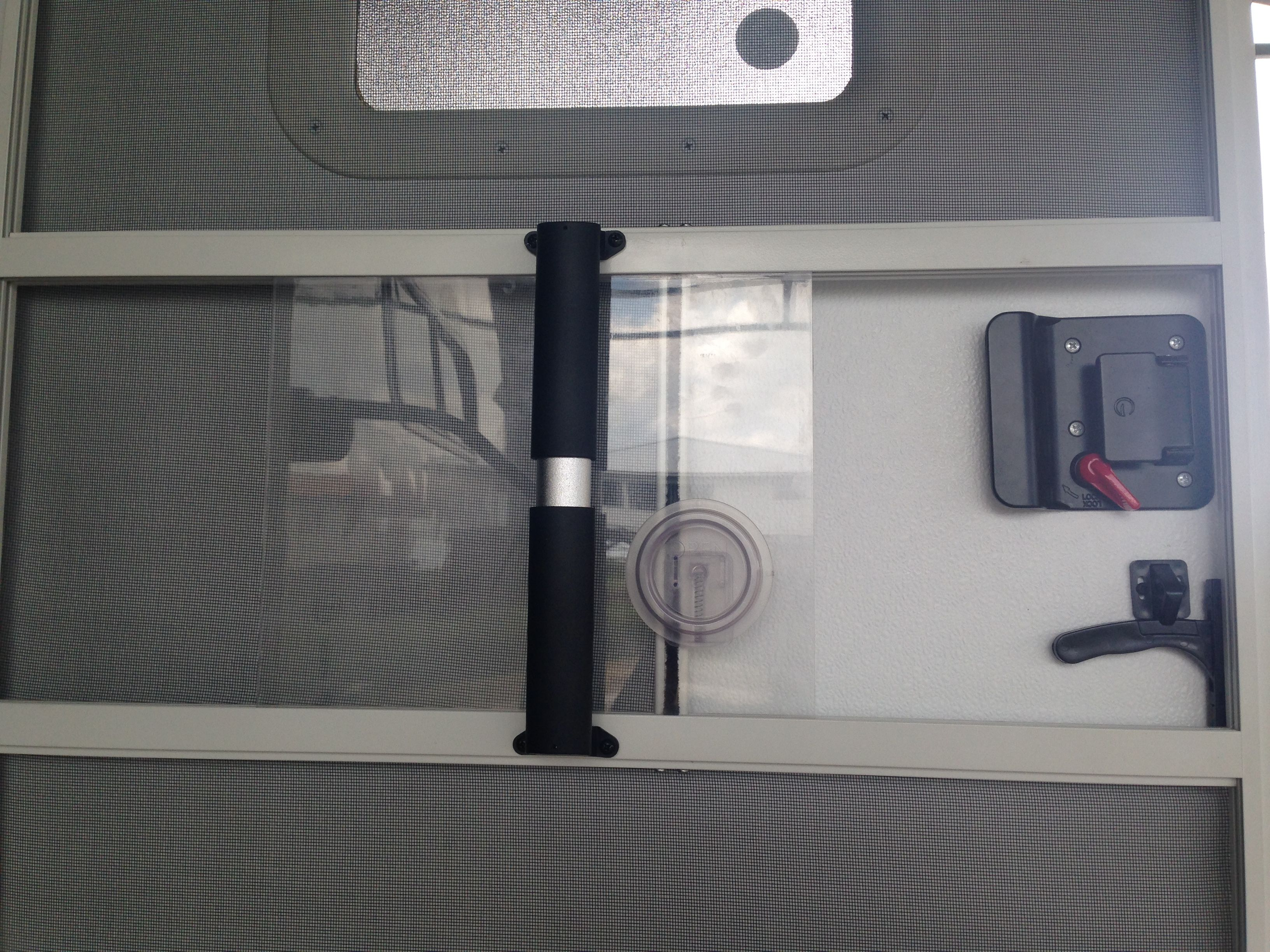 Rv Screen Door Handle Modification Longer One Purchased At Camping