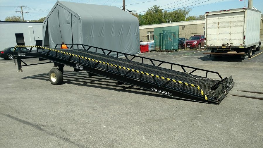 Commercial portable loading ramps for Rent Sell Lease