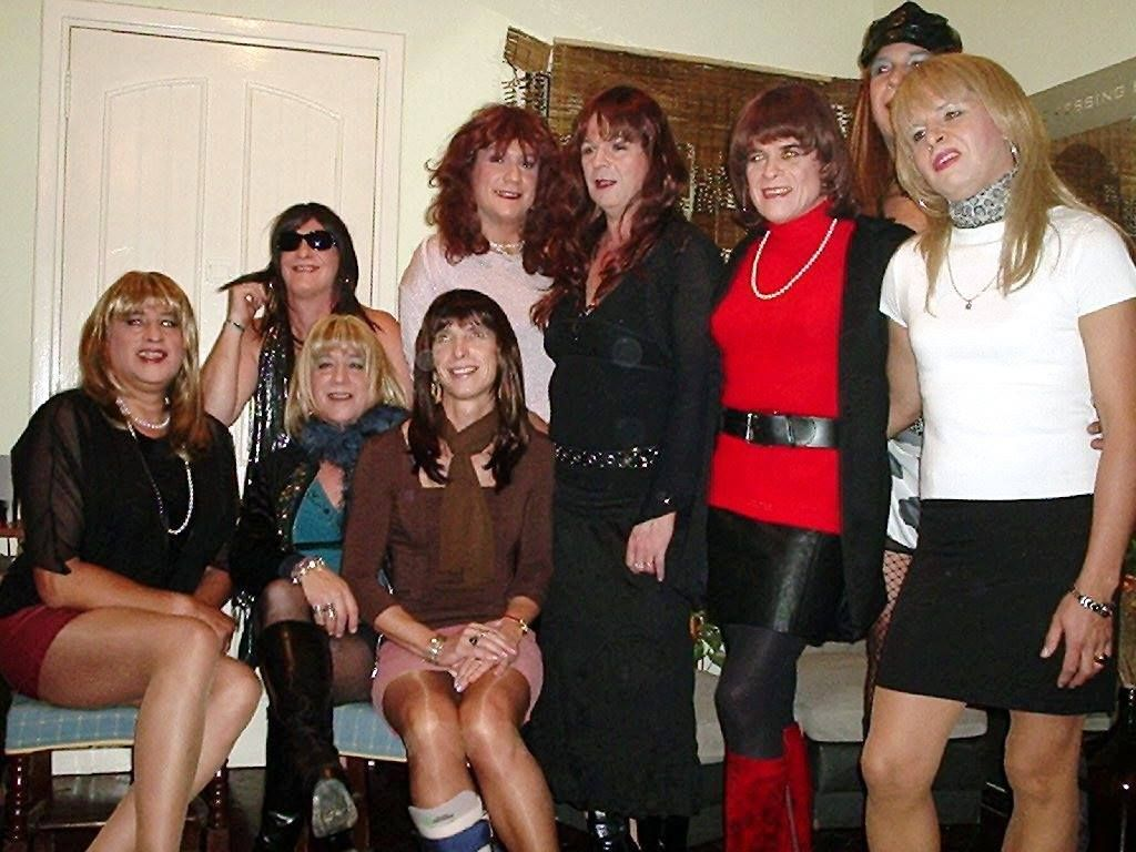 Crossdresser meeting