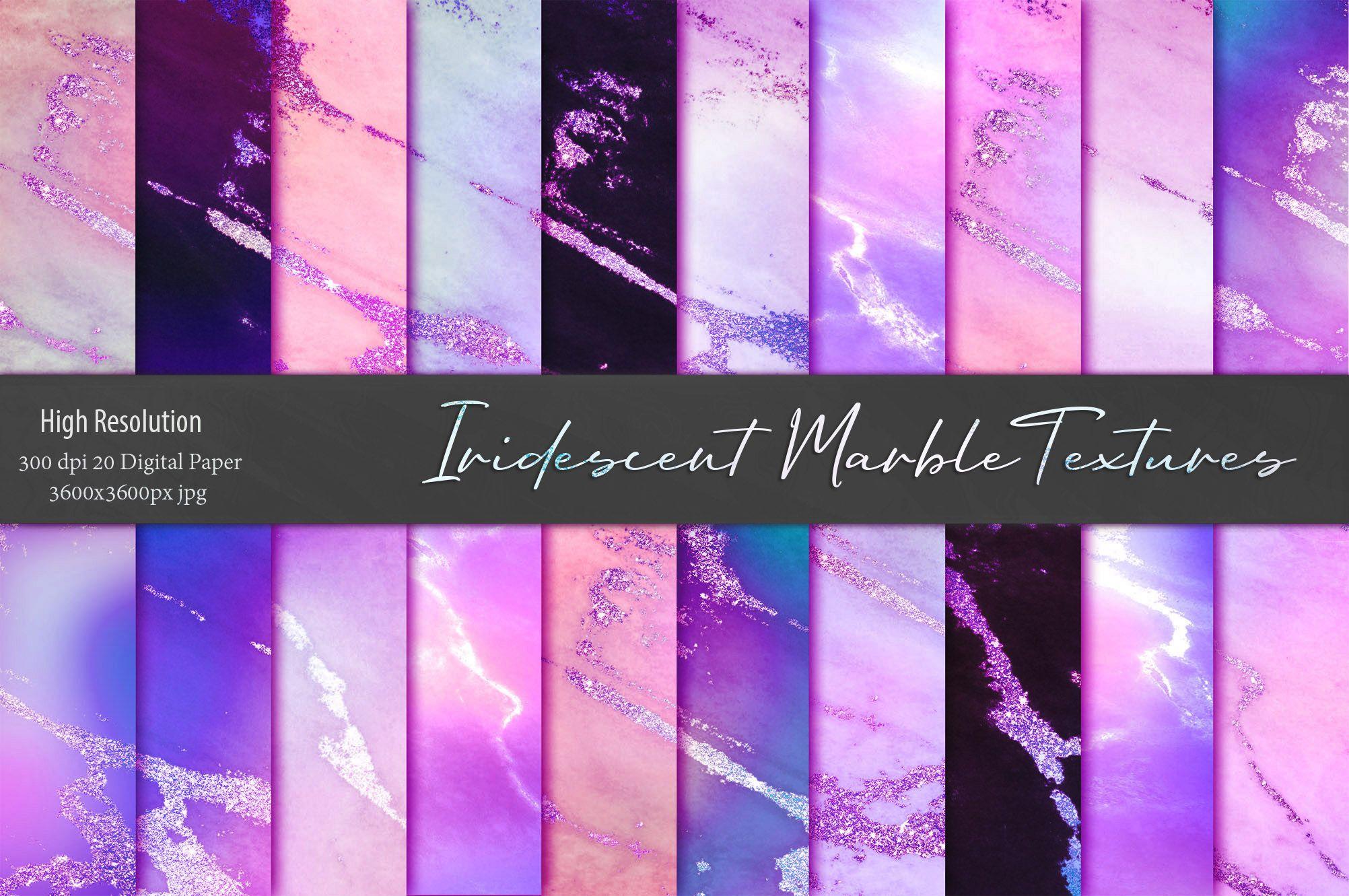 Iridescent Marble Textures #marbletexture