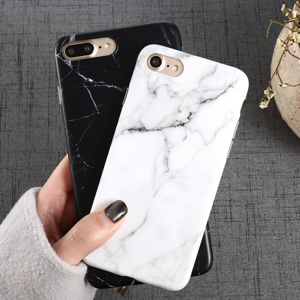 huge discount 78446 fa514 comLuxury Marble Pattern i 8 Phone Case For iPhone 8 Plus Case For ...