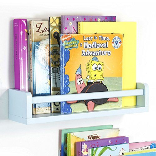 [Toy Storage Ideas] Childrenu0027s Wall Shelf Wood 17.5 Inch Multi Use Bookcase  Toy