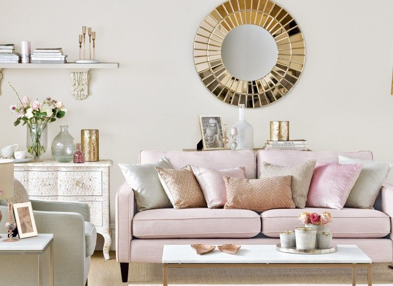 Explore Living Rooms Pink Living Room Pink Living Room Decor Living Room Ideas Rose Gold