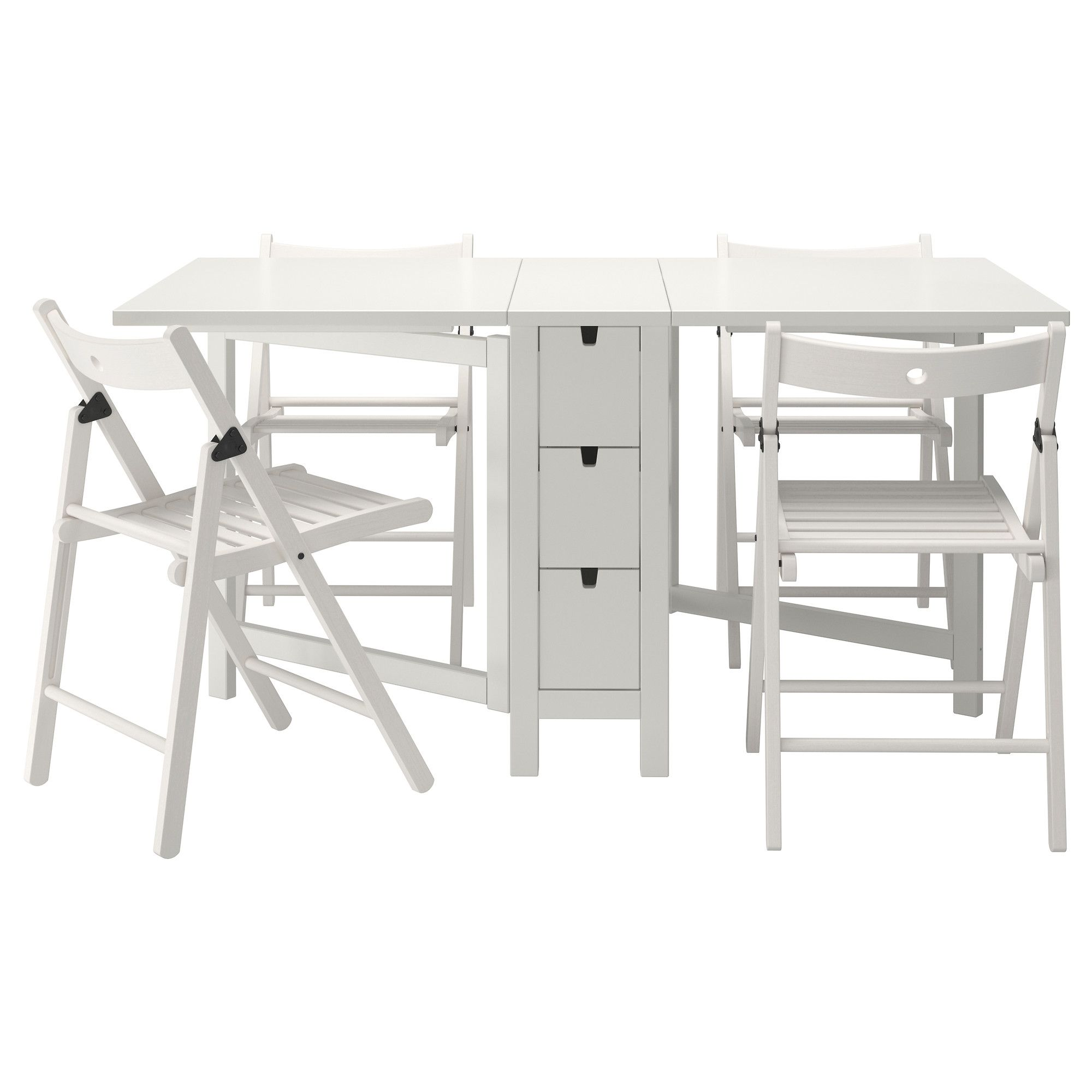 Us Furniture And Home Furnishings Ikea Folding Table Dining