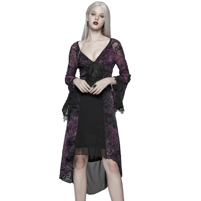 Viktorianisches Kleid mit Spitze im Layering-Look ...