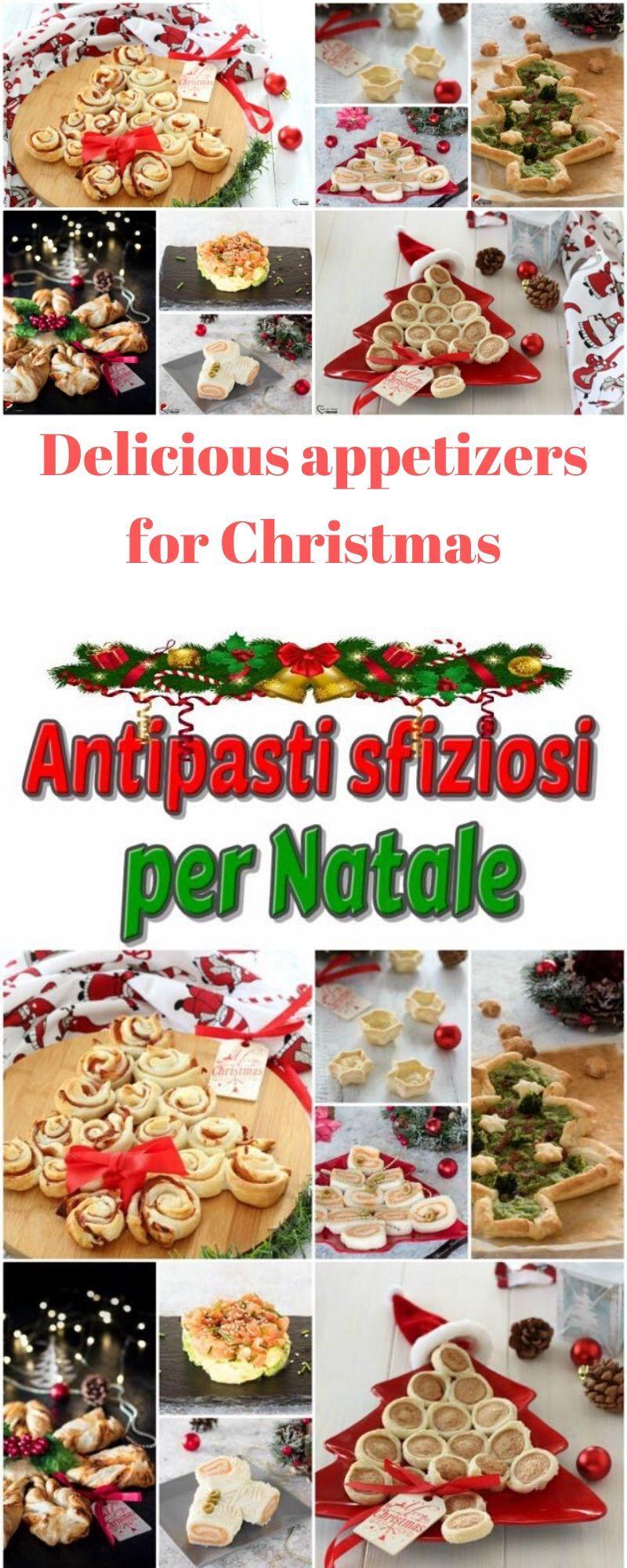 Antipasti Di Natale Cucina Italiana.Antipasti Sfiziosi Per Natale Ricette Facili E Veloci Per Tutti I Gusti Ricette Antipasti Di Natale Alimenti Di Natale