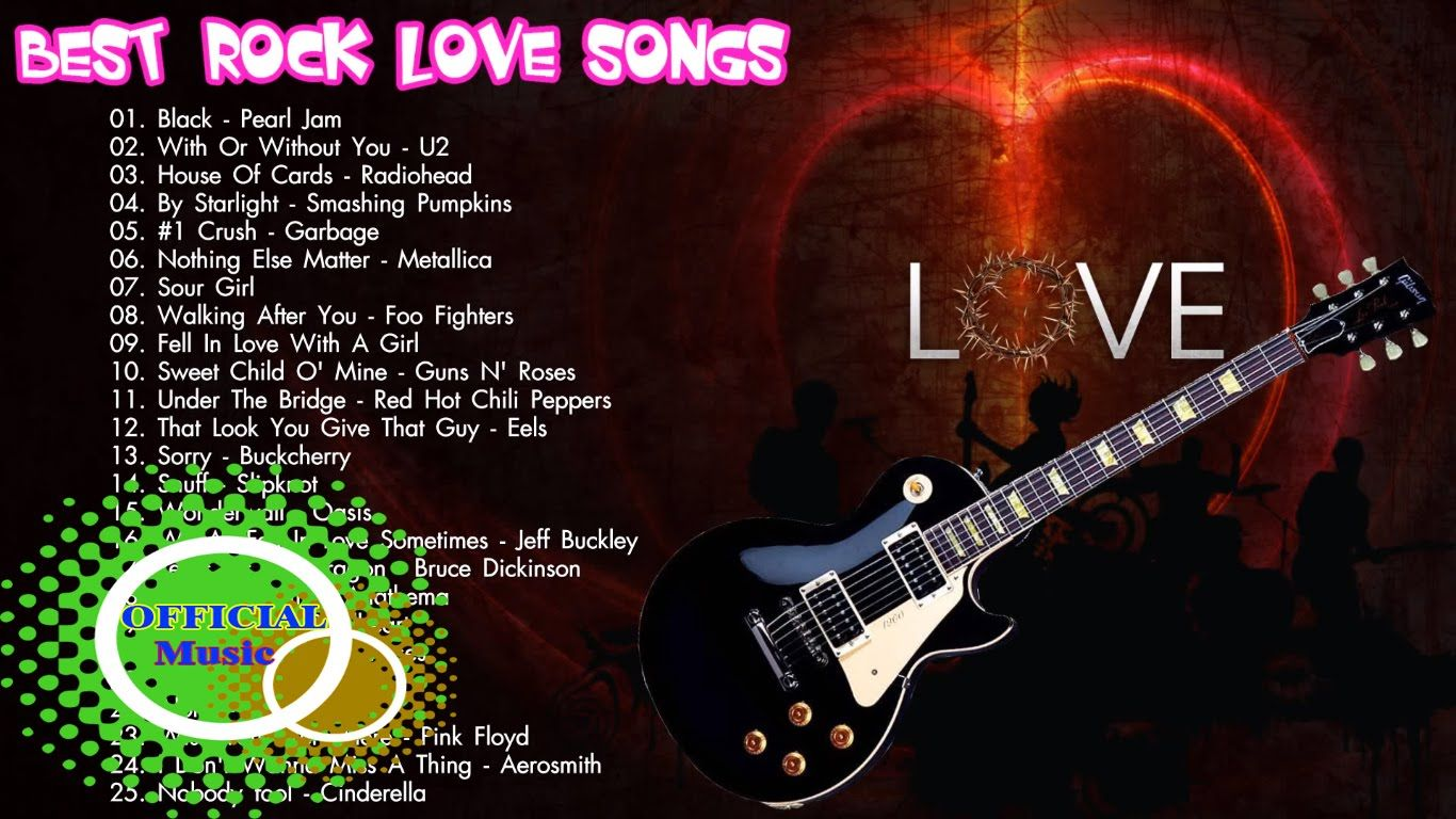 Rock songs about being in love
