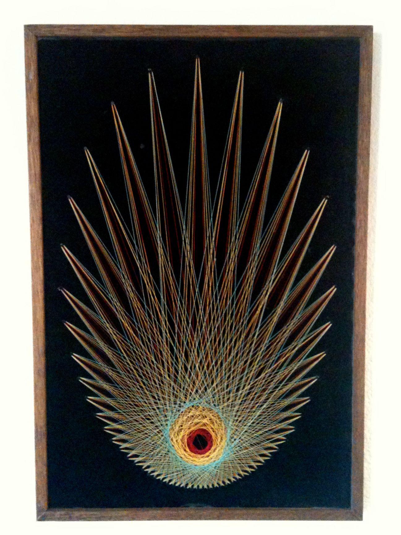 String art gus 39 room pinterest fish string art and art for Fish string art