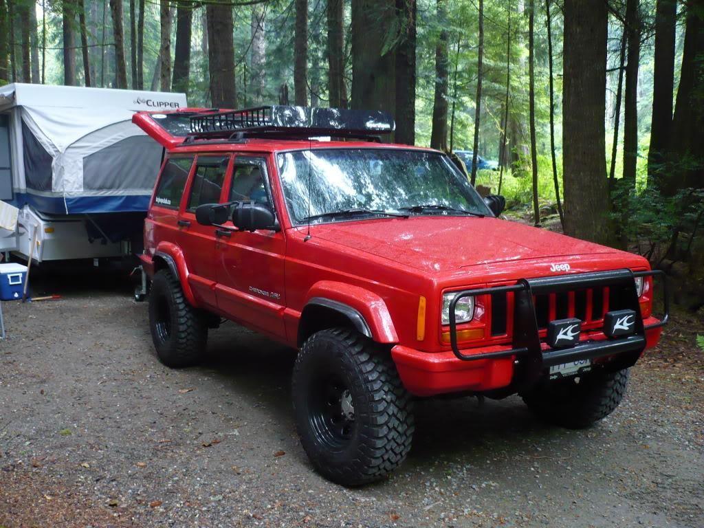 Red Cherokee   Jeep Cherokee XJ   Pinterest   Cherokee ...