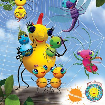 Las Aventuras De Miss Spider 2004 Infancia Dibujos De La Infancia Recuerdos De La Infancia