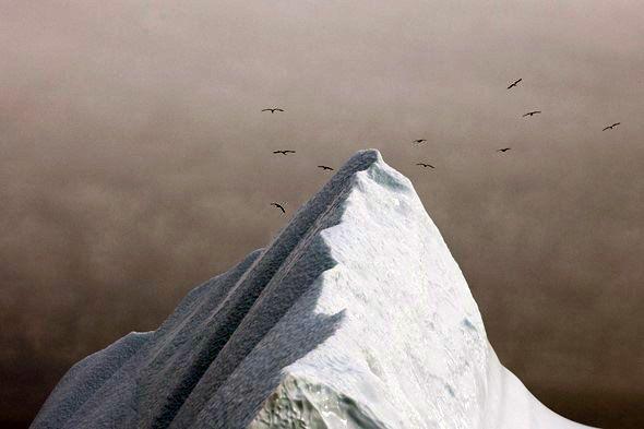 Top of iceberg