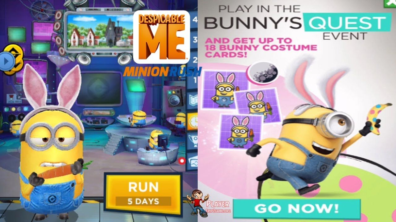 Halloween Event 2020 Android Minion Rush   Bunny Minion In Bunny's Quest Event 2020 Android/iOS