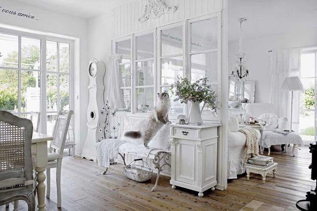 Salotti In Finto Rattan.In Baviera Una Stupenda Casa In Stile Shabby Chic White Shabby
