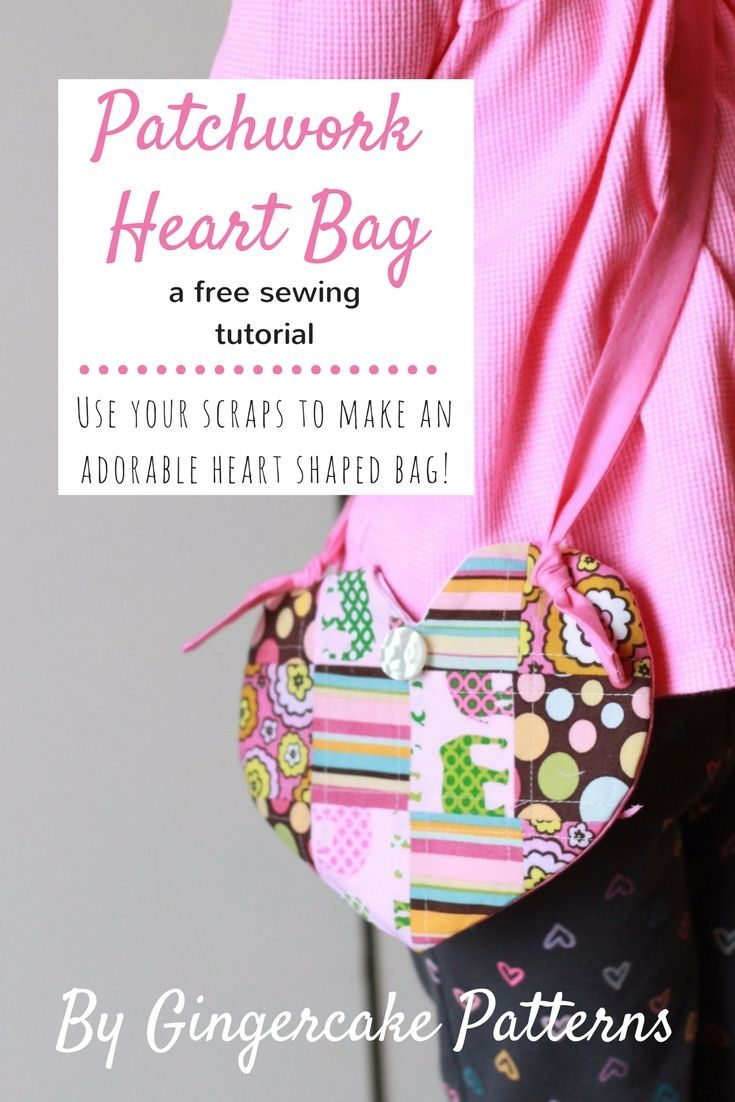 This cute heart shaped bag would make an adorable valentine gift or ...