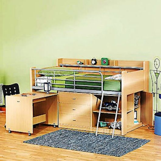 Small Space Furniture 15 Decorating Ideas Loft Bed