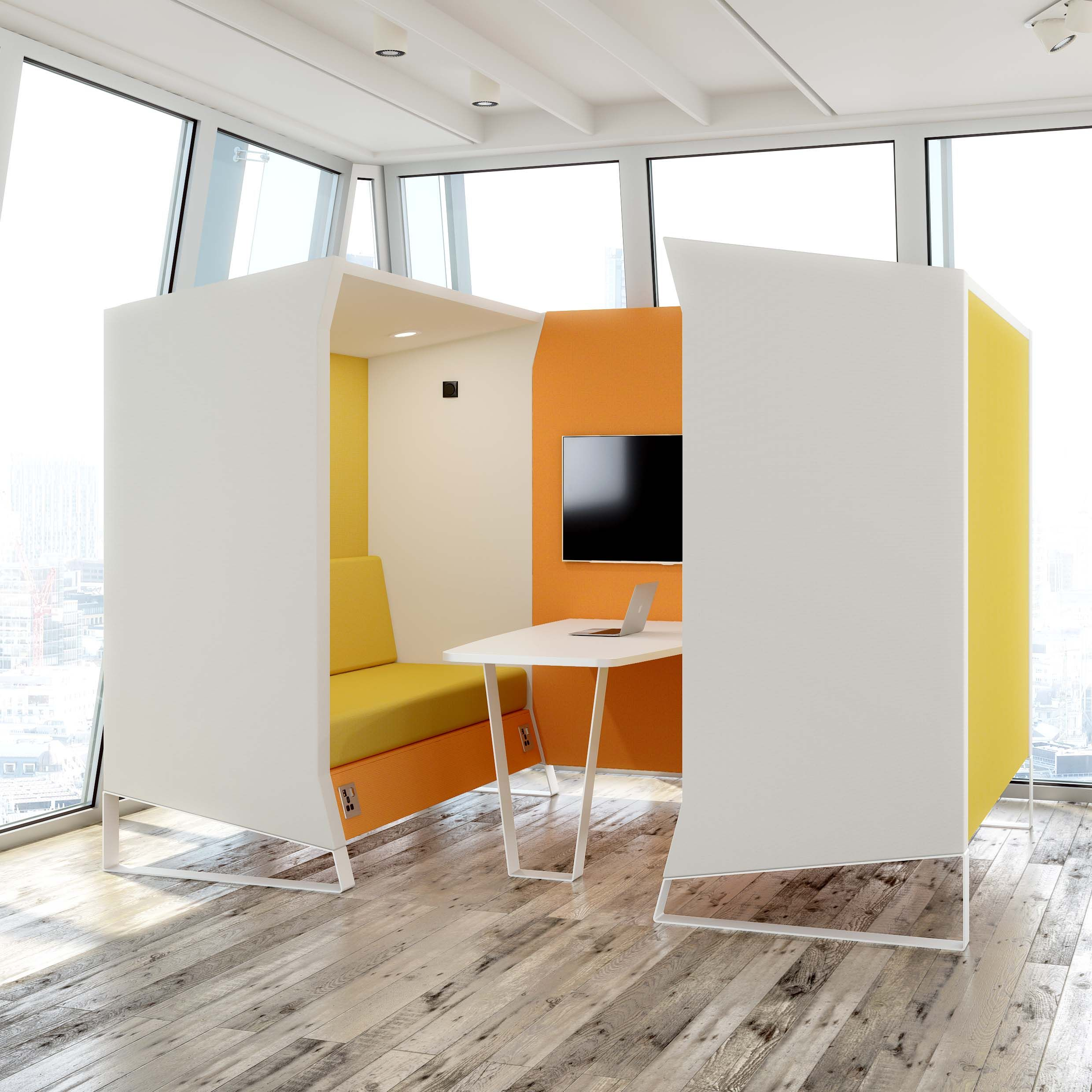 Hangout Breakout Booth / Sofa from Elite Office Furniture