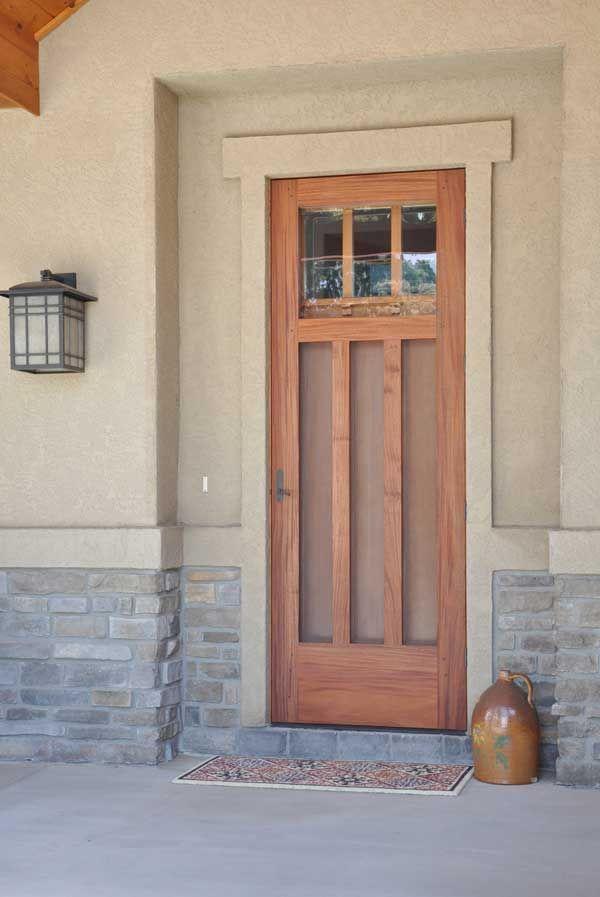 Storm Doors Craftsman Style Craftsman Front Doors Craftsman Style Doors