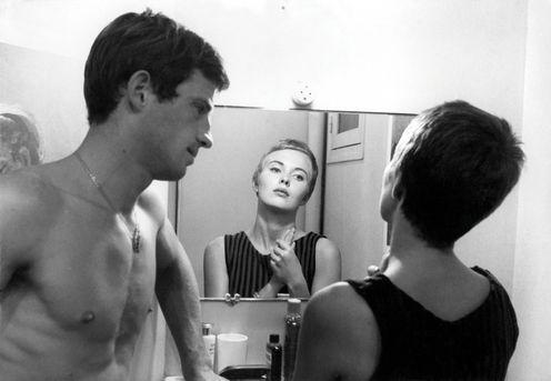 A BOUT DE SOUFFLE, 1960.