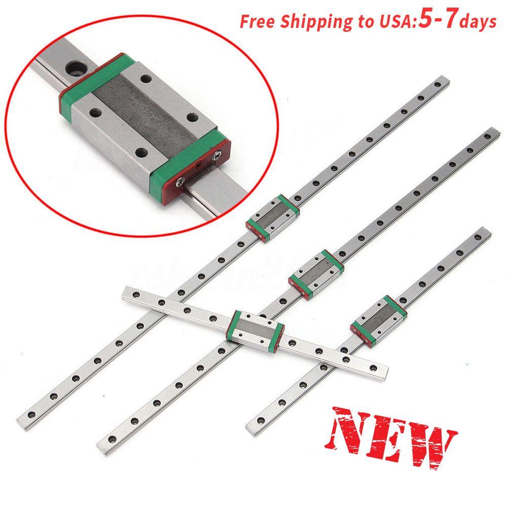 MGN12H Linear Sliding Guide Block 250 300 350 400 450 500 550mm CNC 3D Printer