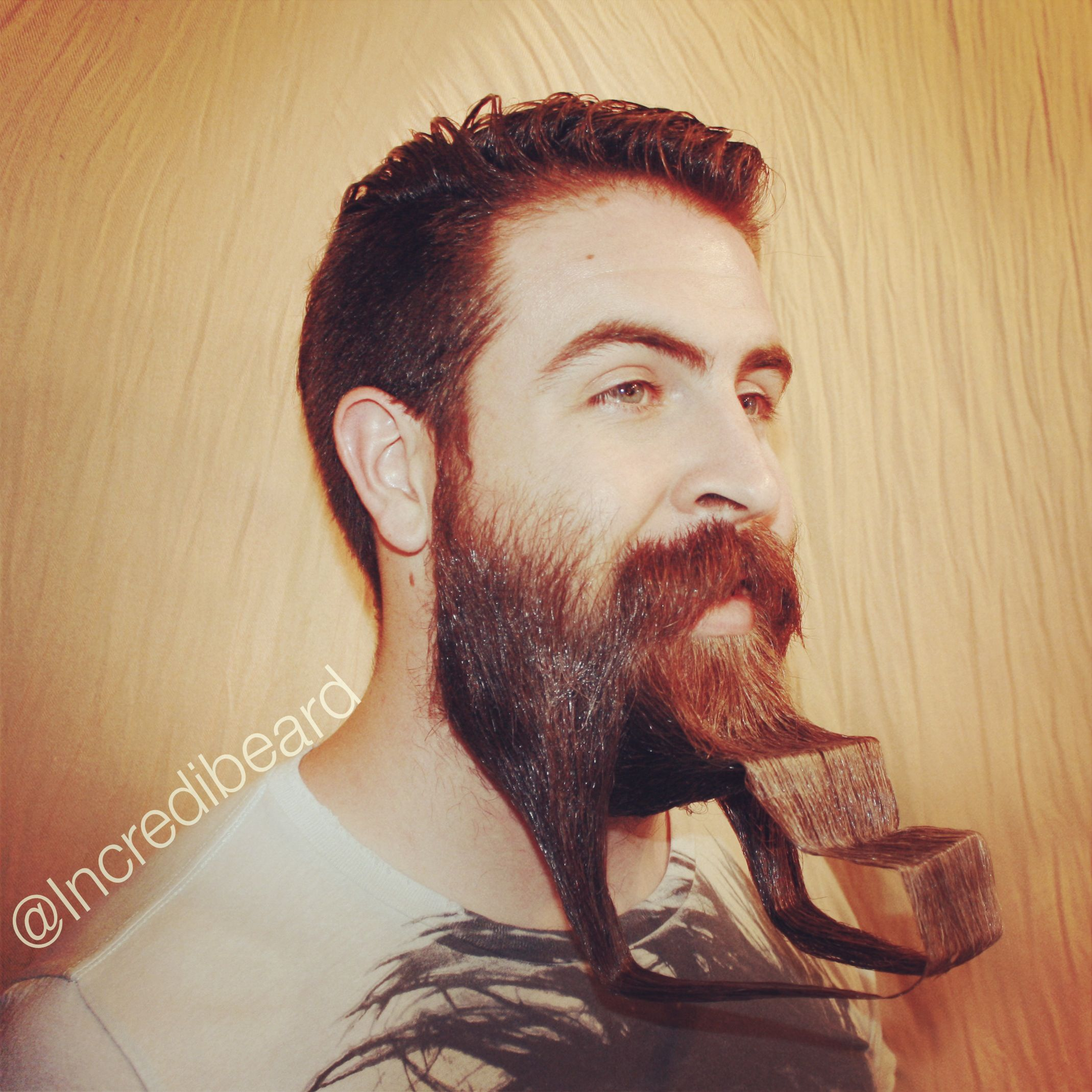 This Weeks Monbeardday Design Is Called Stairway To Heaven Beards - Mr incredibeard really coolest beard ever seen