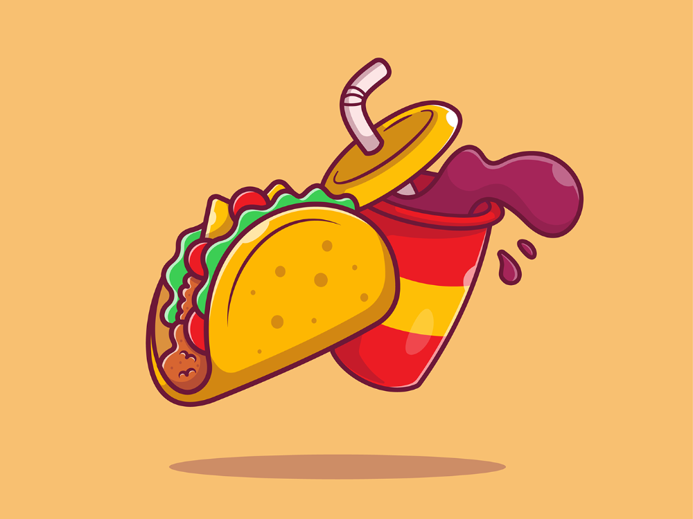 Mexican Food On Behance Cartoon Styles Illustration Art Design Mexican Food Recipes