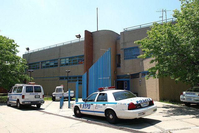 P049 NYPD Police Station Precinct 49 Morris Park Bronx New York City By
