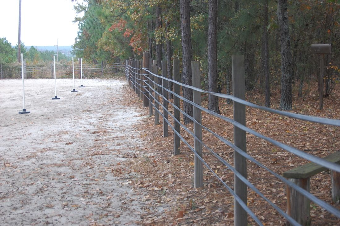 Rubber Fencing has been used for more than 40 years and provides an ...