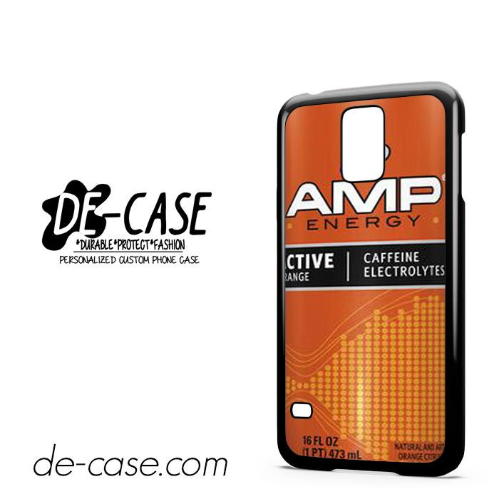 Amp Energy Drink Natural For Samsung Galaxy S5 Case Phone Case Gift Present YO