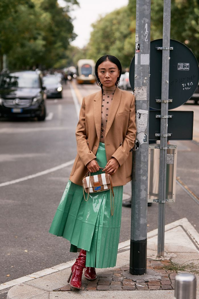 The Latest Street Style From Milan Fashion Week #bohostreetstyle See the Latest Milan Fashion Week Street Style Spring 2020 | Who What Wear #bohostreetstyle
